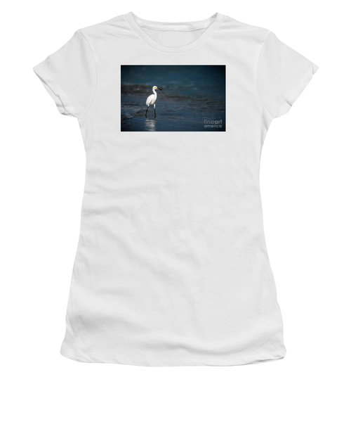 Snowy In The Surf Women's T-Shirt