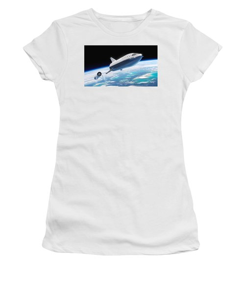 Spacex Bfr And Bfs  Women's T-Shirt