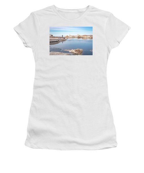Spring Fishing Women's T-Shirt
