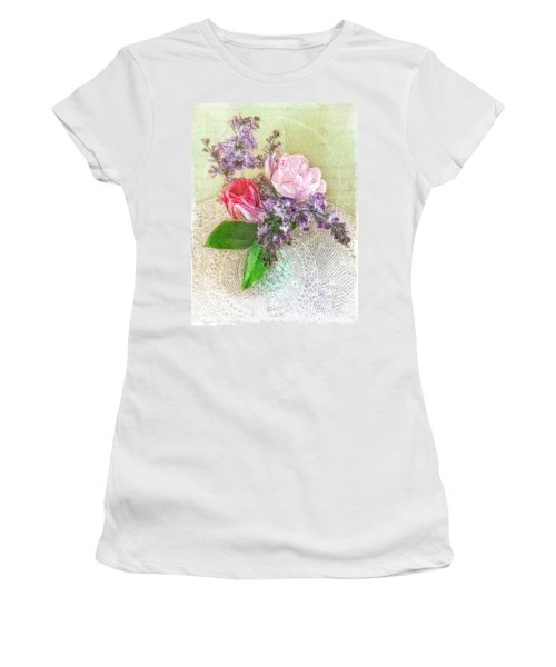Spring Song Floral Still Life Women's T-Shirt