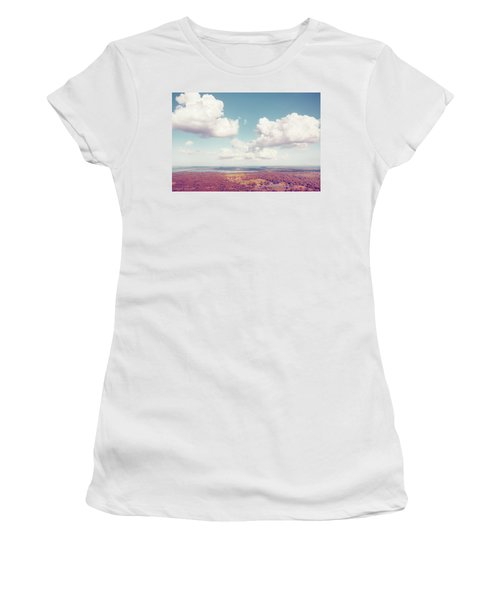 Sri Lankan Clouds In Pastel Women's T-Shirt