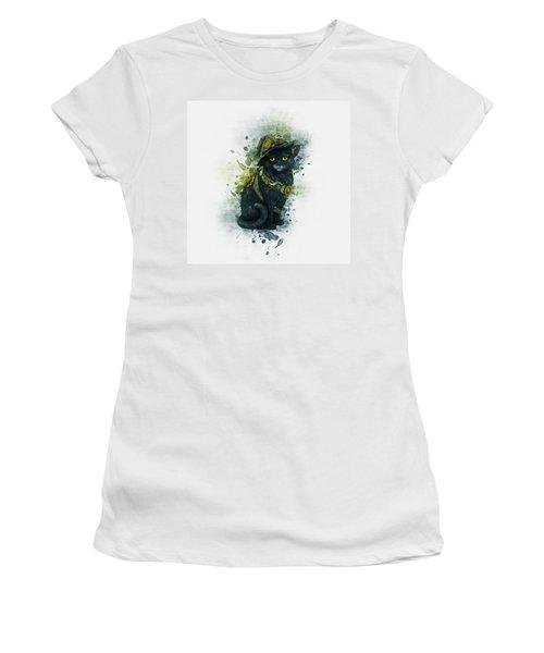 Steampunk Kitty Women's T-Shirt