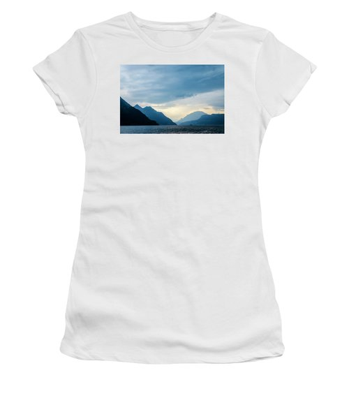 Storm Clouds On Lake Lucerne Women's T-Shirt