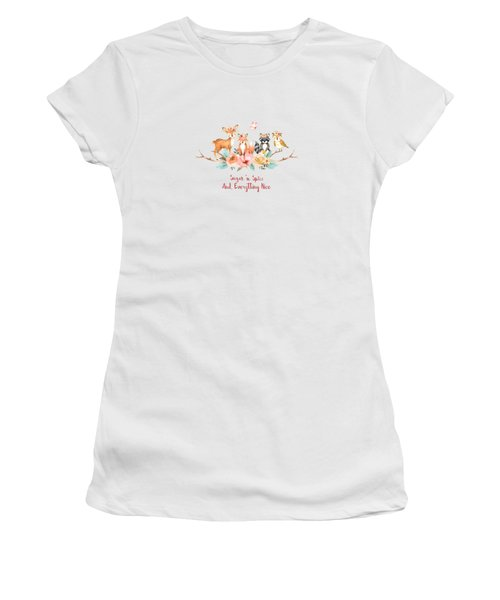 Sugar 'n Spice And Everything Nice Women's T-Shirt