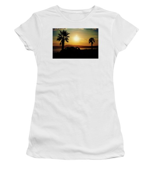Women's T-Shirt featuring the photograph Summer Life by Milena Ilieva