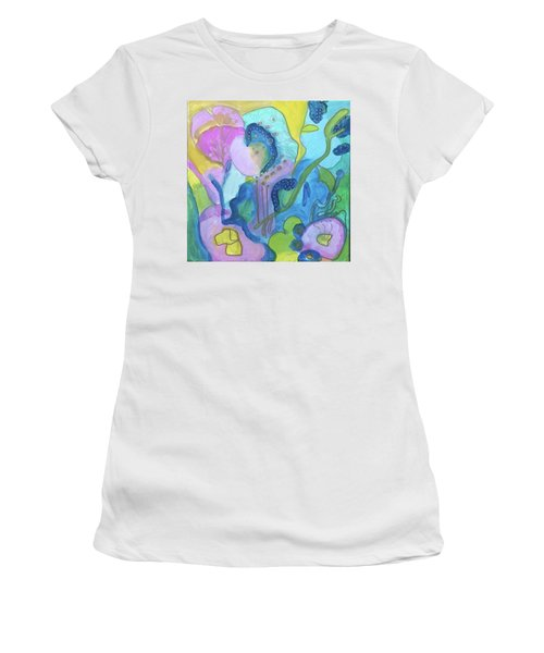 Sunny Day Abstract Women's T-Shirt