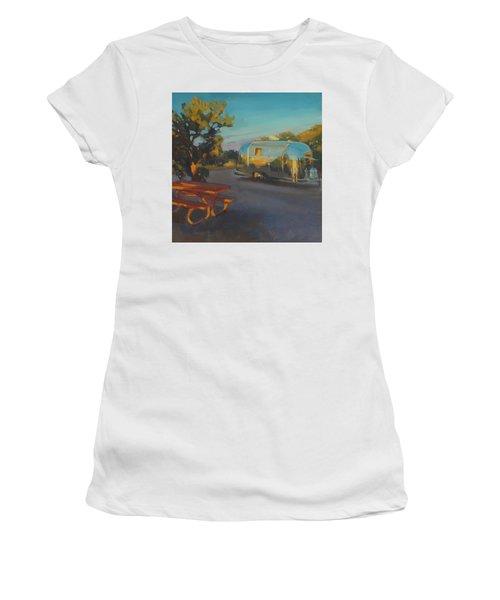 Sunrise In Navajo Monument Women's T-Shirt
