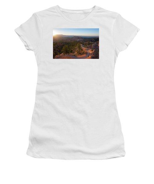 Sunrise Over Bryce Canyon Women's T-Shirt