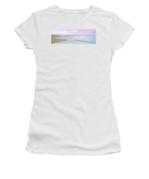 Sunrise Over The Pacific Ocean, Playa Women's T-Shirt