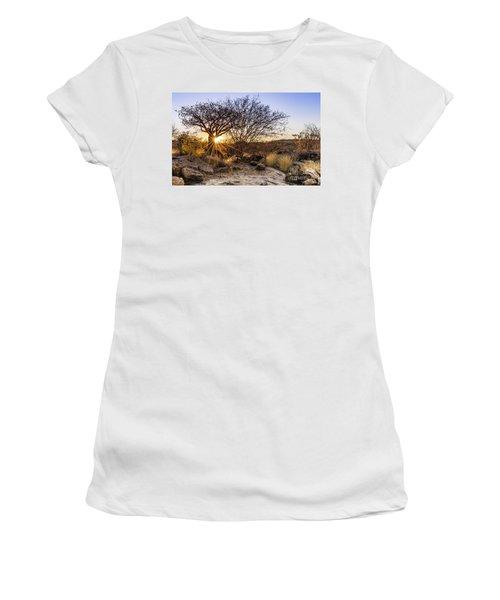Sunset In The Erongo Bush Women's T-Shirt