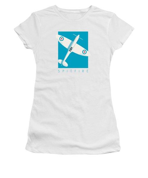 Supermarine Spitfire Wwii Raf Fighter Aircraft Women's T-Shirt