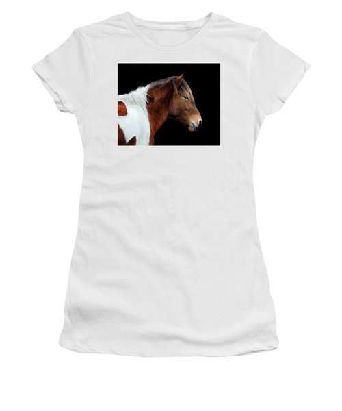 Susi Sole Portrait On Assateague Island Women's T-Shirt