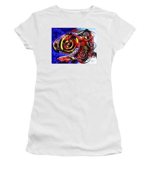Swollen, Red Cavity Fish Women's T-Shirt