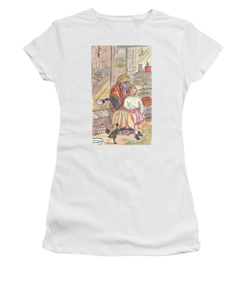 Taking Care Of The Owners Little Daughter Women's T-Shirt