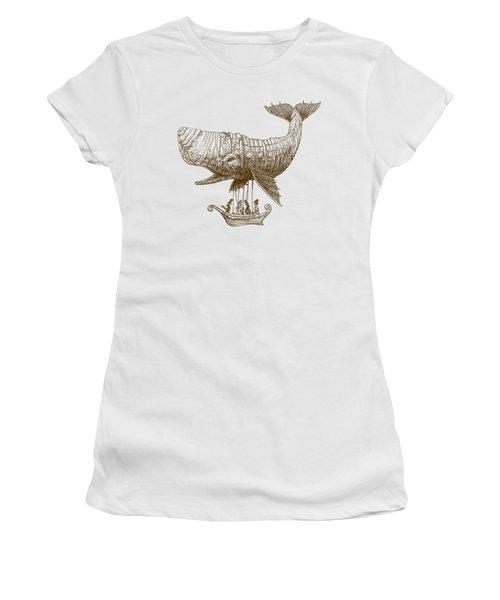 Tea At Two Thousand Feet Women's T-Shirt