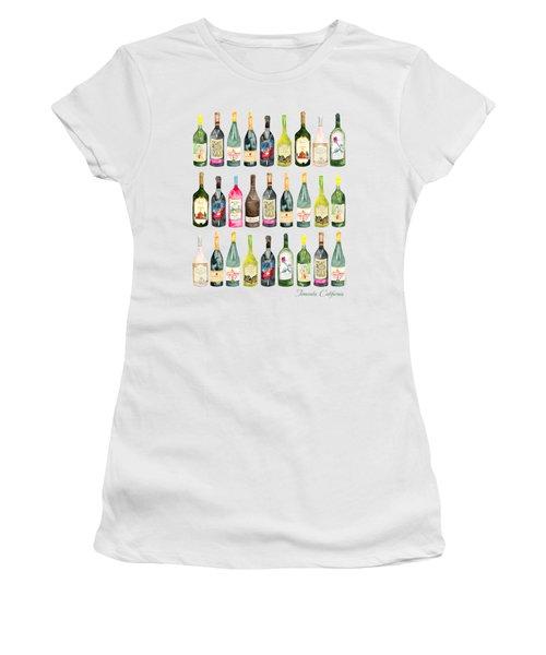 Temecula Wine Bottles Women's T-Shirt