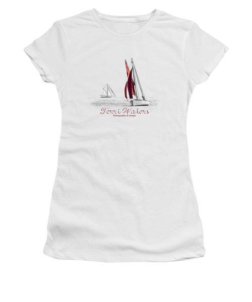 Terri Waters Photography And Design Logo Women's T-Shirt