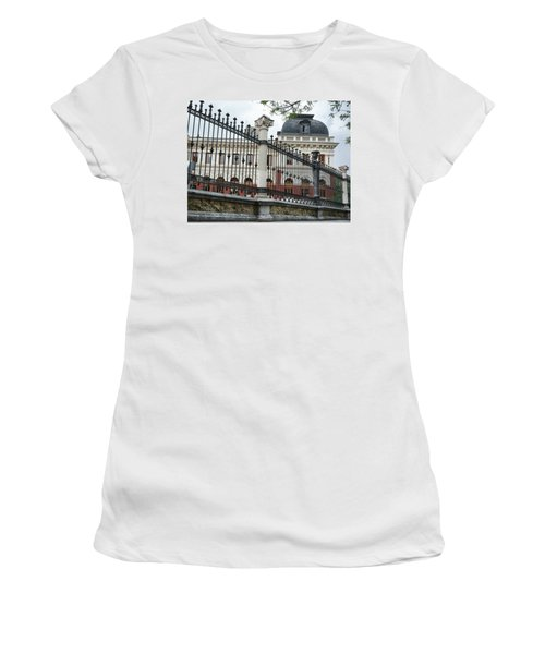 The Back Of The Ministry Of Agriculture Building In Madrid Women's T-Shirt