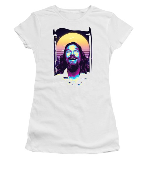 The Big Lebowski Revisited - The Dude No. 4 Women's T-Shirt
