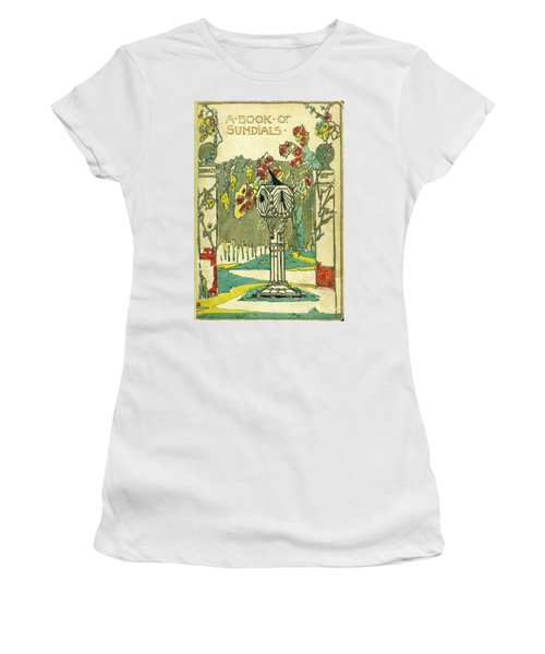 Cover Design For The Book Of Old Sundials Women's T-Shirt