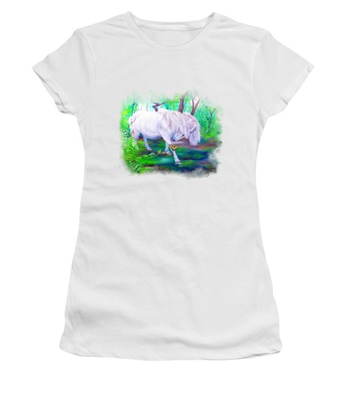 The Butterfly And The Pony Women's T-Shirt