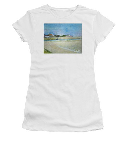 The Channel Of Gravelines Grand Fort Philippe Women's T-Shirt