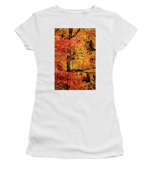 The Colors Of Fall Women's T-Shirt