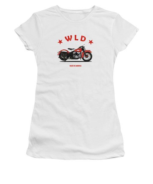 The Harley Wld Motorcycle 1941 Women's T-Shirt