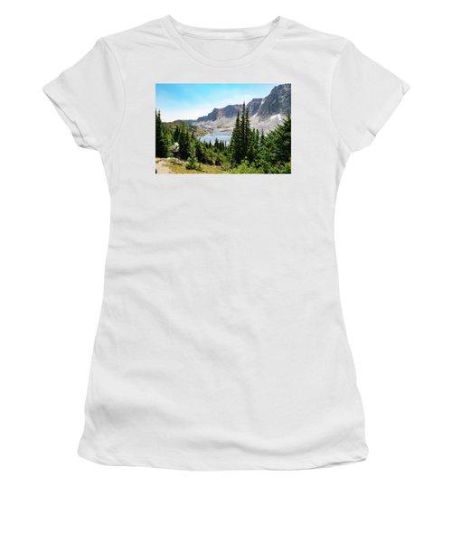 The Lakes Of Medicine Bow Peak Women's T-Shirt