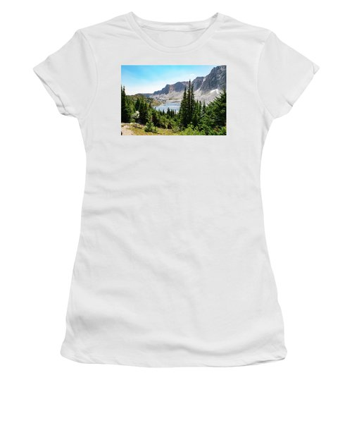 The Lakes Of Medicine Bow Peak Women's T-Shirt