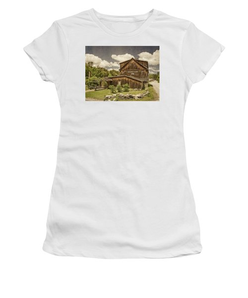 Women's T-Shirt (Athletic Fit) featuring the photograph The Mill Tavern by Guy Whiteley