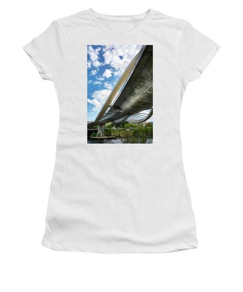The Millennium Bridge From Below Women's T-Shirt