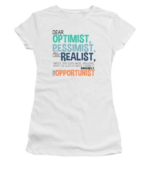 The Opportunist Women's T-Shirt