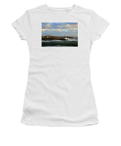 The Peggy's Cove Seascape Women's T-Shirt