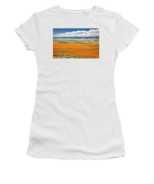 The Road Through The Poppies 2 Women's T-Shirt