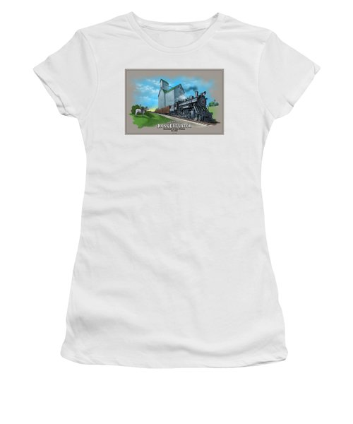The Ross Elevator Sentinel Of The Plains Women's T-Shirt
