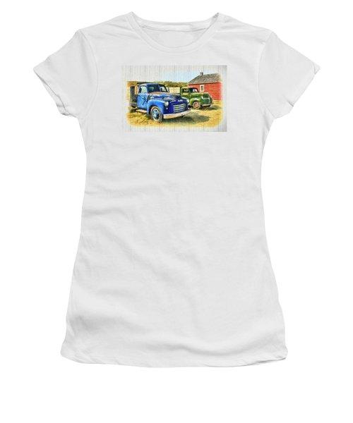 The Strong Silent Types Women's T-Shirt