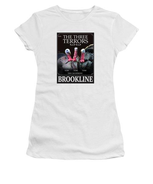 The Three Terrors Women's T-Shirt