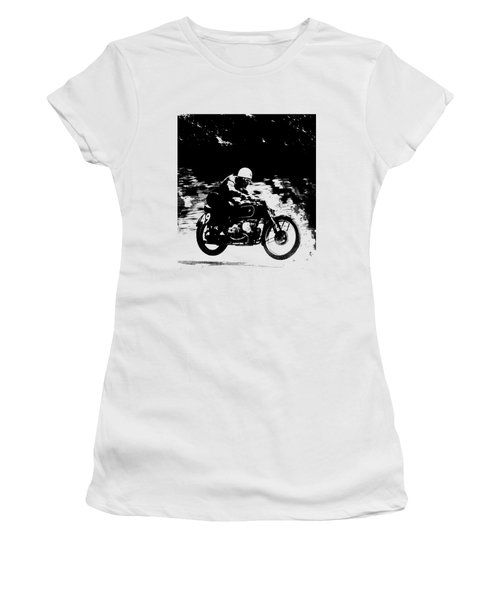 The Vintage Motorcycle Racer Women's T-Shirt