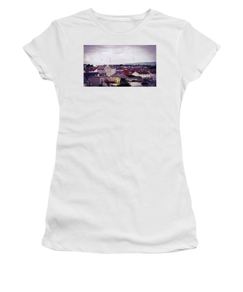 Women's T-Shirt featuring the photograph Thomond Park by JLowPhotos