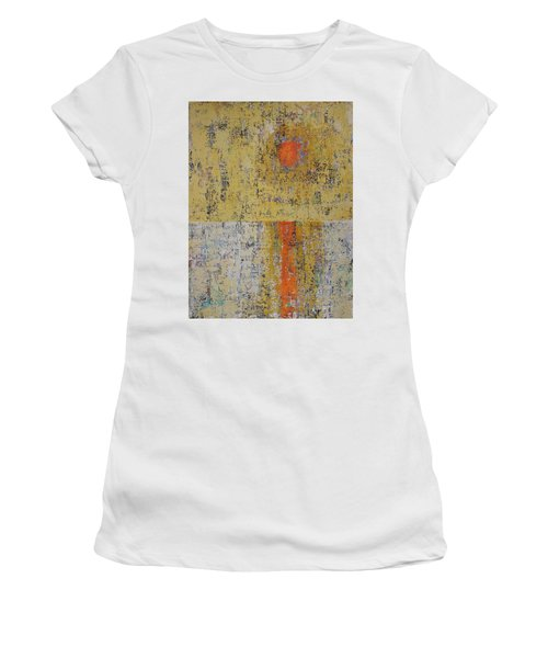 Tidepool Reflection Original Painting Sold Women's T-Shirt