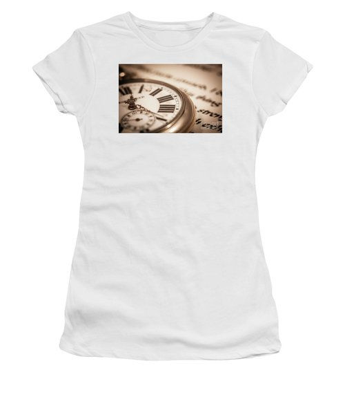 Time And Words Women's T-Shirt