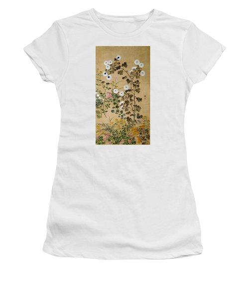 Top Quality Art - Flowering Plants In Autumn #2 Women's T-Shirt