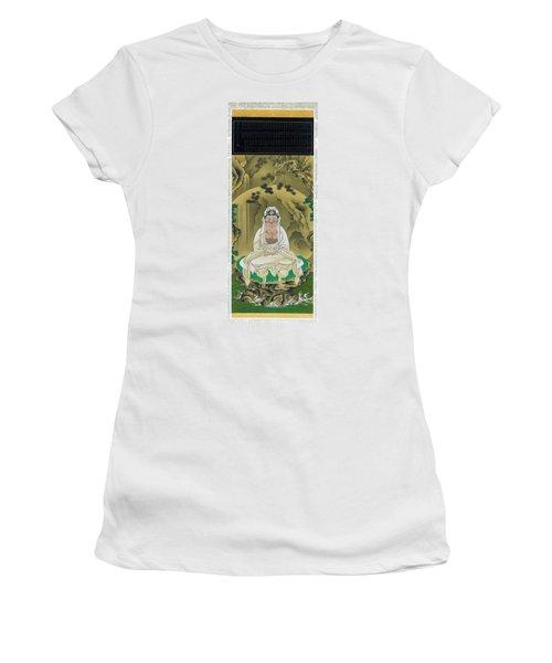 Top Quality Art - White Robed Kannon Women's T-Shirt