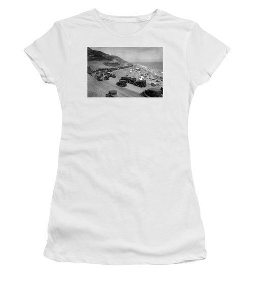 Topanga State Beach 1920 Women's T-Shirt