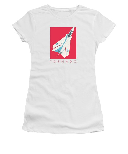 Tornado Swing Wing Jet - Crimson Women's T-Shirt