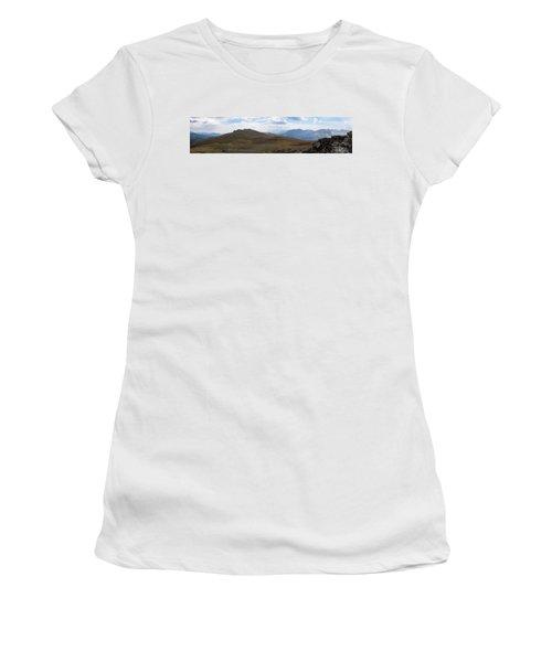 Trail Ridge Road Arctic Panorama Women's T-Shirt