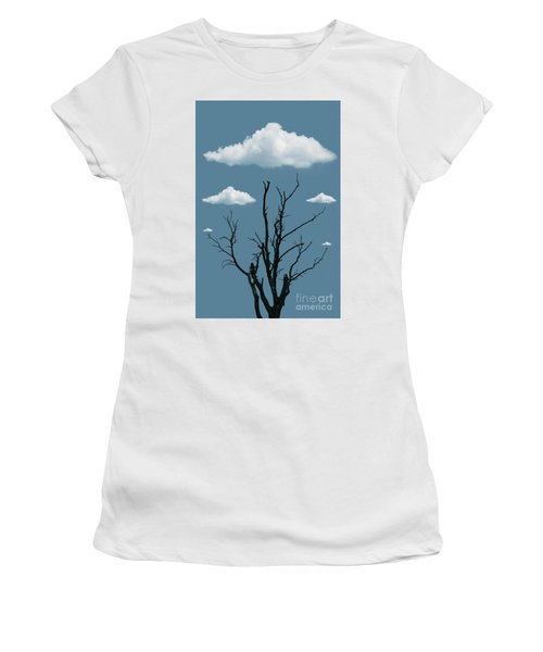 Tree In The Clouds Women's T-Shirt