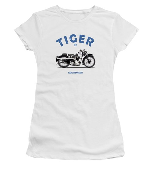Triumph Tiger 90 Women's T-Shirt