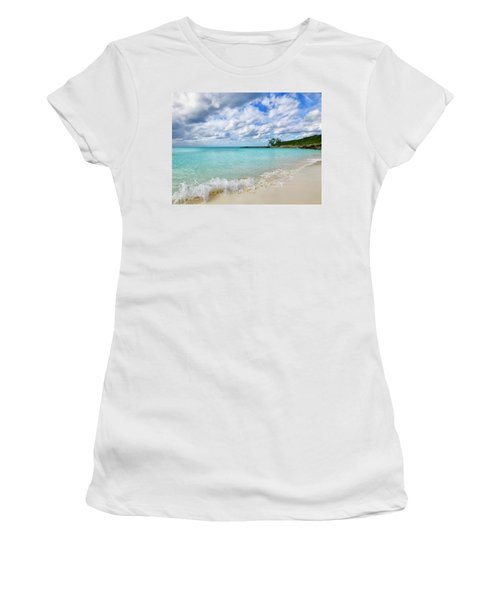 Tropical Beach Women's T-Shirt